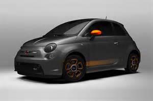 Fiat 500e 2014 2014 Fiat 500e All Electric Car With Zero Emissions