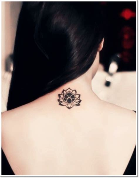 lotus tattoo in the back 41 enticing lotus flower tattoos