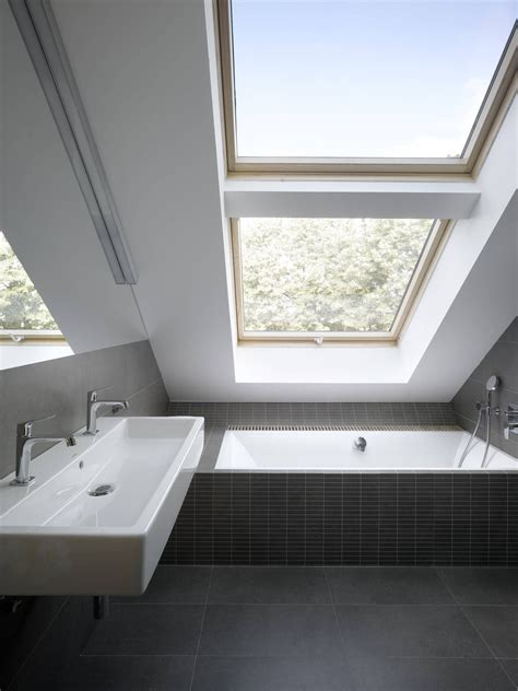 bathroom in loft conversion small attic loft apartment in prague idesignarch