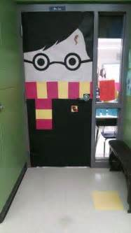 Harry potter door elementary school door decorating contest