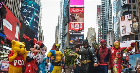 tattoo new york times square disney marvel want no part of nypd s times square