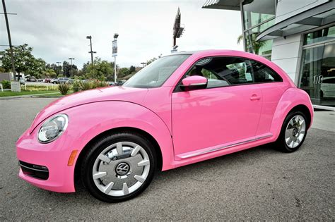 volkswagen pink pink volkswagen beetle what every wants video