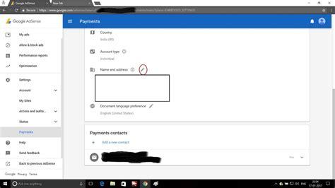 adsense change address what is google adsense address verification and how to