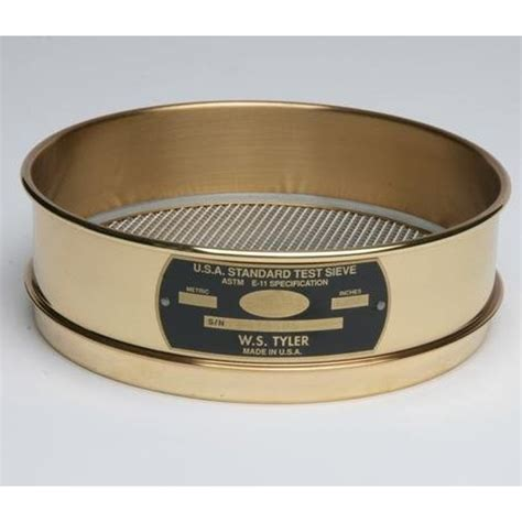 Test Product Ss standard testing sieves brass ss sepor
