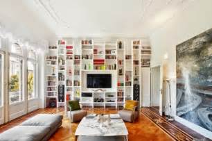 boden wand decke living room bookshelves and shelving units 20 ideas