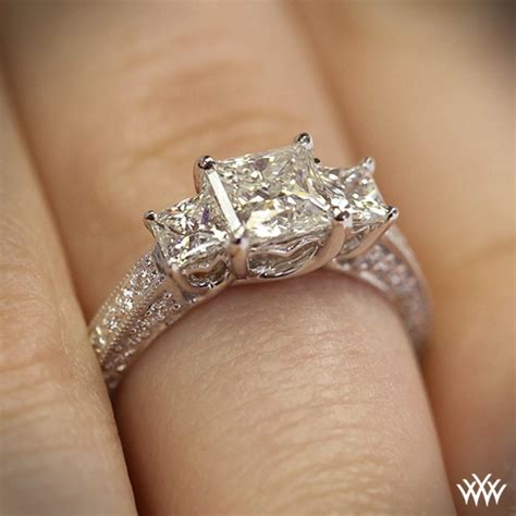 Things To Learn About Diamonds From Loosediamondsreviews by 3 Coeur De Clara Engagement Ring For