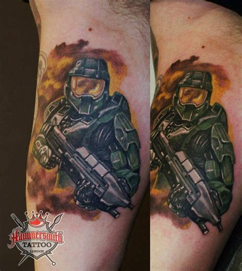 halo tattoo artist 26 best tattoos images on halo