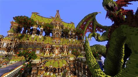 House Blueprint Ideas minecraft misty grove fantasy palace mega build