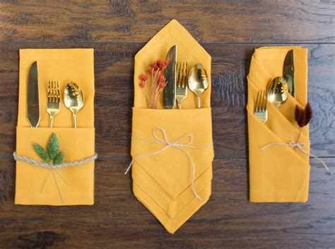 how to fold table napkins 3 pretty ways to fold napkins for your fall tablescape