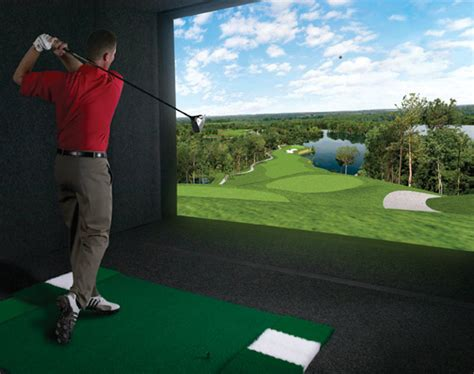 full swing golf simulators golf simulators unite to form worldwide indoor u s open