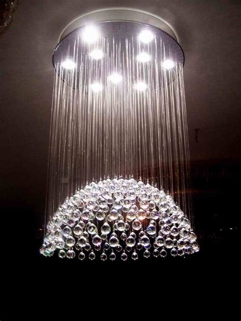 Contemporary Chandelier Lights Deco Dining Room With Blown Glass By Kristin Acker Design Bookmark 21116