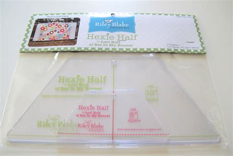 quilting rulers and templates hexie half ruler templates