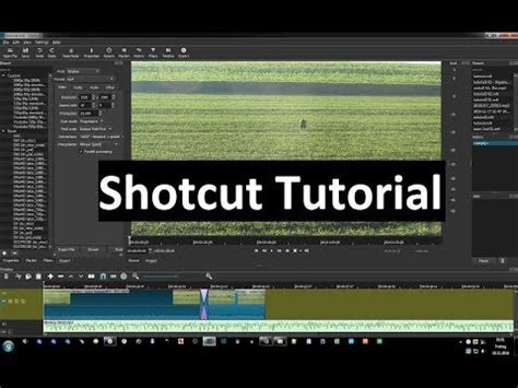 tutorial filmora indonesia how to blur video using free application shotcut tuto