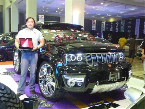 Pimped Jeep Grand Britains Got Talent Show Setiadi S Jeep Grand
