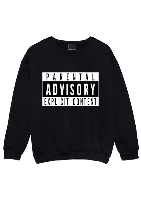 Tumbl T T Shirt Kaos Parental Advisory parental advisory sweater jumper womens swag fashion grunge kale