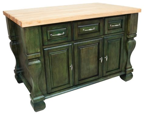 lyn design kitchen islands lyn design kitchen island aqua green traditional