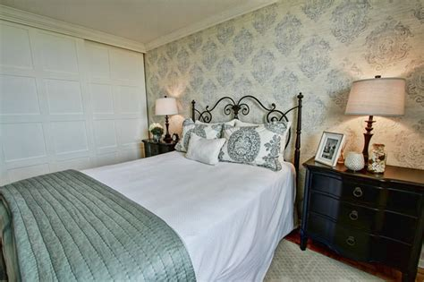 lakeside bedrooms lakeside apartment traditional bedroom toronto by
