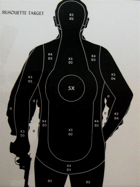 printable man targets reserved for rebecca vintage 1950s silhouette man shooting
