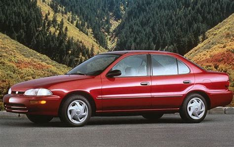 used 1997 geo prizm sedan pricing features edmunds