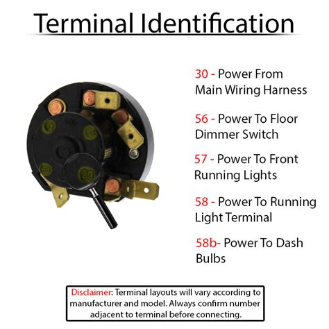 3 position headlight switch wiring wiring diagram with