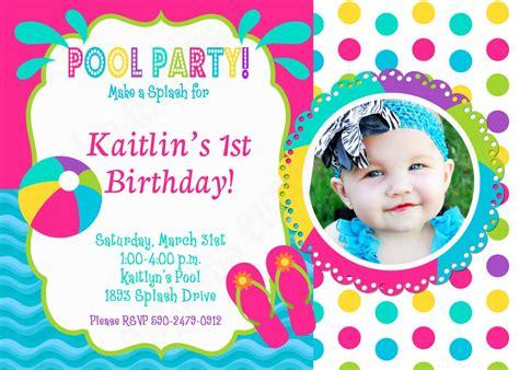 pool invitation pool invitation birthday printable birthday