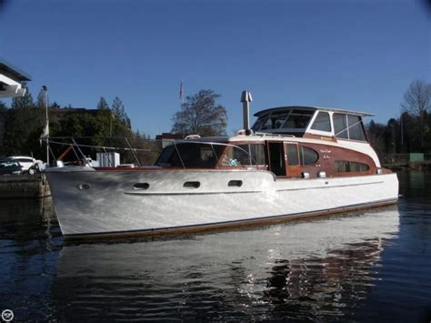chris craft boats seattle 1949 chris craft 46 double cabin flybridge seattle wa for