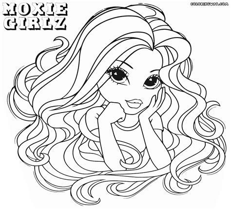 Moxie Girlz Coloring Pages Coloring Pages To Download Moxie Girlz Coloring Pages