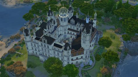 How To Find House With Same Floor Plan schwerin castle sims 4 studio