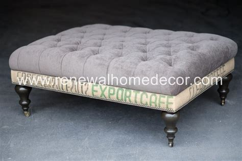 Diy Tufted Top Storage Ottoman With Repurposed Coffee Diy Tufted Storage Ottoman