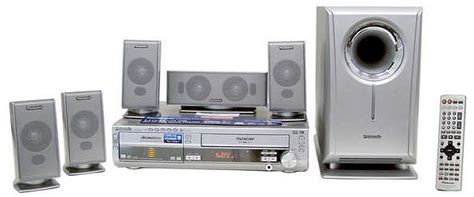 panasonic sc ht820v home theater system w built in 5 dvd