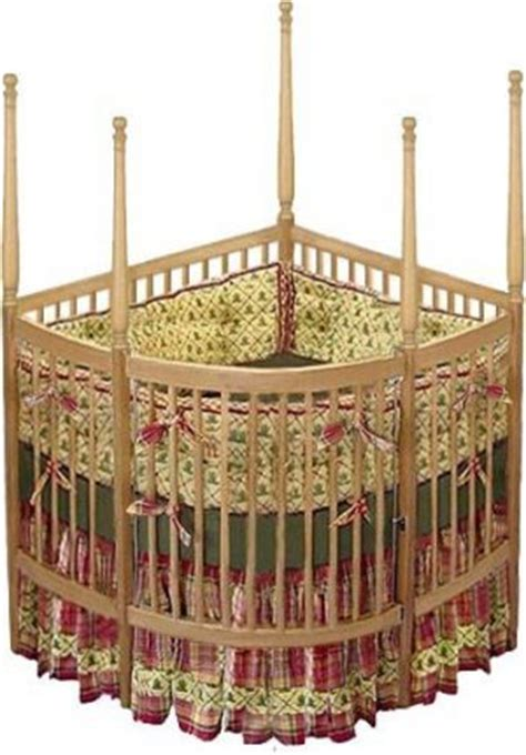 nursery baby custom corner crib woodworking plans design crcrb