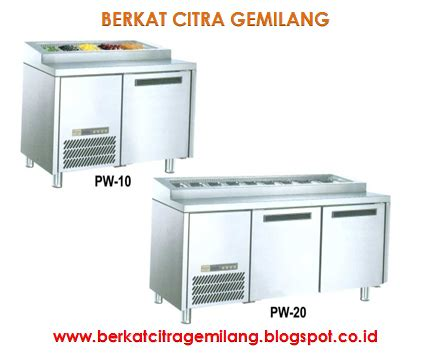 Salad Ss Sc 03 2d berkat citra gemilang stainless steel counter chiller for salad and topping pizza