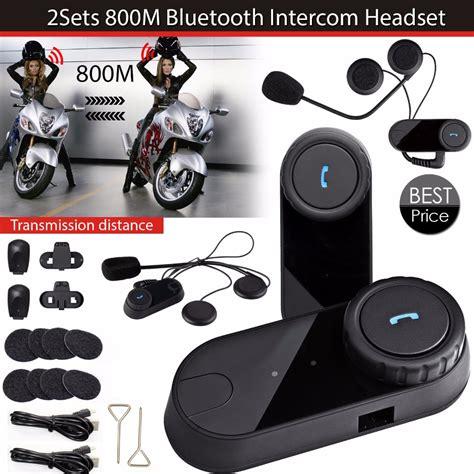 Motorrad Headset China by Online Kaufen Gro 223 Handel Bluetooth Helm Intercom Aus China