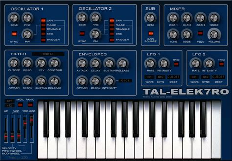 free software free software synth for mac windows tal elek7ro 2 0