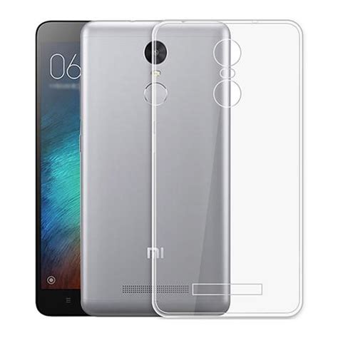Soft Shell Acrylic With Dust For Xiaomi Redmi 4x baseus soft for xiaomi redmi note 3 transparent back
