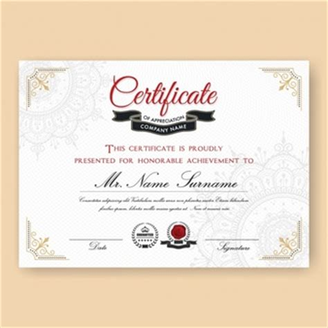 diploma design template certificate vectors photos and psd files free