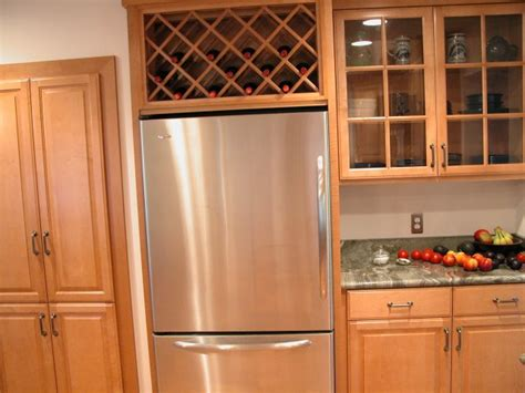 wine rack over refrigerator wine rack for unused space over the refrigerator remove