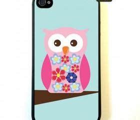 Op4981 White Owl Print For Iphone 4 4s Kode Bimb5458 1 pink owl iphone 4 iphone 4s iphone 4
