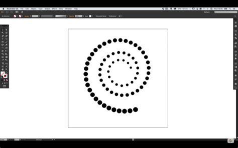 adobe illustrator pattern along path create dots along spiral path in illustrator wanderlust