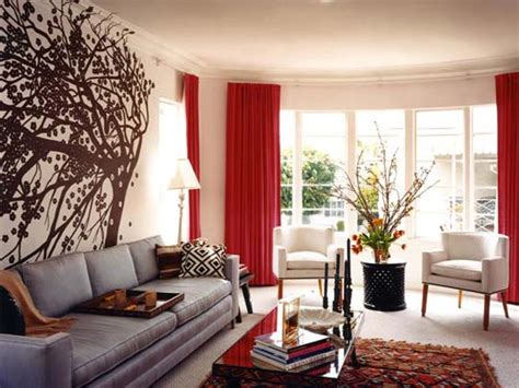 idea accents 15 red living room design ideas