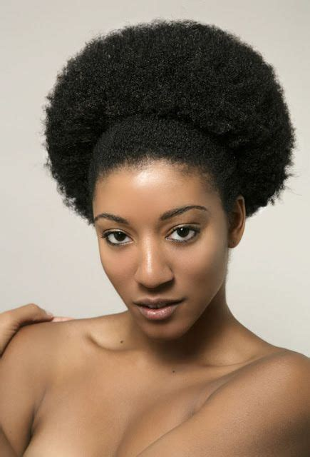 hairstyles that are pushed up in back afro pushed back black women natural hairstyles i love