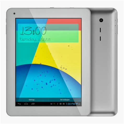 android silver android silver pc tablet max