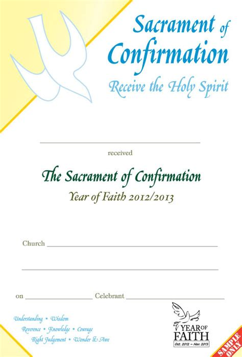 confirmation certificate template confirmation certificate c70 yof pixygraphics
