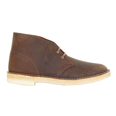 Clarks Leather Sol Leather clarks originals beeswax coloured leather casual shoes
