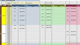 scheduling templates free appointment scheduling spreadsheet