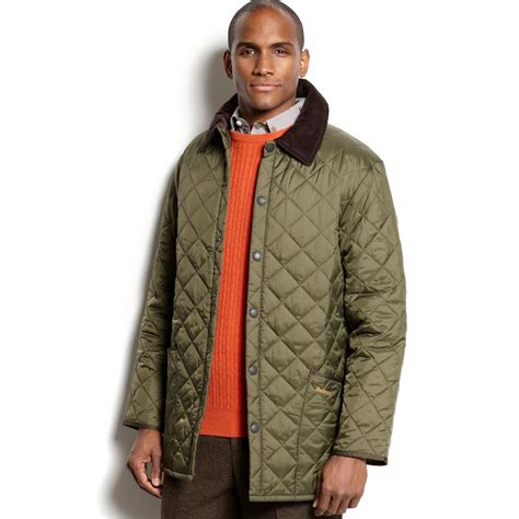Barbour Quilted Jacket by Barbour Liddesdale Quilted Jacket In Green For Olive