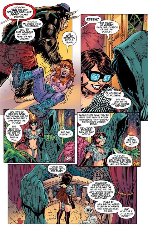 Scooby Doo 10 by Scooby Apocalypse 10 Review Seeing Velma S Cheeks