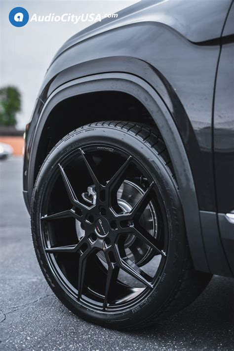 volkswagen atlas black wheels 22 quot giovanna wheels haleb gloss black rims 285 35 22