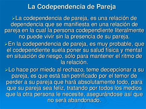 librate de la codependencia la codependencia de pareja