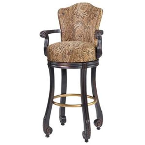 Bar Stools Clearwater Fl by Designmaster Dining Stools Calais Carved Armed Swivel Bar
